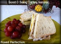 Sweet & Sassy Turkey Sammie - I've had this before. Love it!