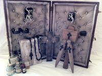 Vampire killing slaying kit by DrJonsCreations on Etsy, $270.00
