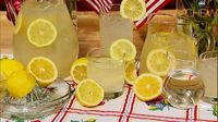 Carla Hall's Mint Berry Lemonade recipe. #thechew