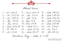 Advent Tree with Free Corresponding Verses Printable http://www.itsoverflowing.com/2012/11/advent-tree/