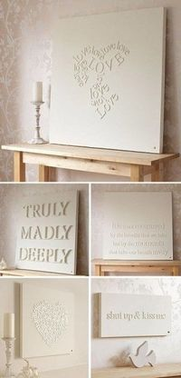 Simple to do - would be nice on a wooden block