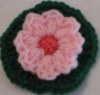 Impatiens Flower - free crochet pattern