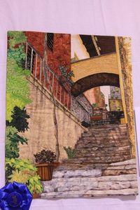 Love this architecture art quilt