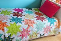 Penelope's Star Quilt by Darci - Stitches, via Flickr