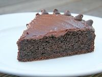 An ultra-delish and low-fat chocolate cake recipe!
