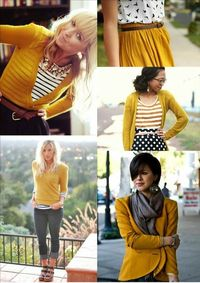 Need to get some mustard yellow clothes! Lol