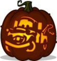 posts similar to tow mater pumpkin pattern cars pumpkin carving rh juxtapost com  car themed pumpkin carving patterns