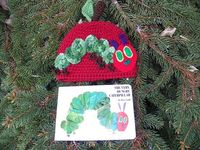 My hungry caterpillar hat pattern is finally done :)