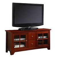 $350 - Walnut Brown Becket Television Console | World Market
