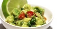 Paleo Spicy Guacamole Ranchero, A Side with Fresh Lime