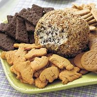 Cookie Dough Cheese Ball Recipe I've had this before and it is so good!