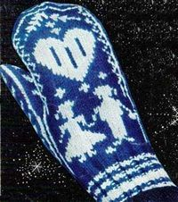 Women's Norwegian Mittens