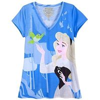 ''The Art of the Disney Princess'' Sleeping Beauty Tee for Women by Disney Couture
