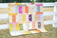 Far Far Away Quilt ~ by Chara Michele of Sew Click Create
