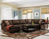 more brown couch