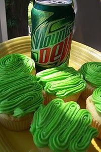 mtn dew cupcakes