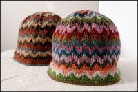 Chevron Love Hat Pattern