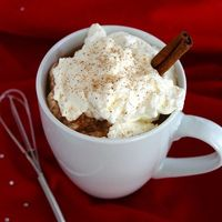 Boozy Hot Cocoa from ButtercreamBlondie.com
