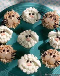 Noah's Ark Baby Shower The expectant mother need not be delivering two by two to have a wonderful time at this animal-themed shower. Adorable lion and lamb cupcakes and whimsical balloon animals make the party complete. Invitations can be in the shape...