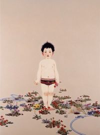 Masako�€€Ando �€Œ�Š���森�€�€€/ real paintings are much more beautiful than photos in PC monitor