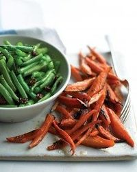 Glaze carrots with honey for a French feel.