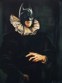 Classically painted Batman