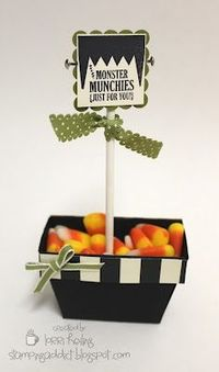 Monster Munchies - how cute!