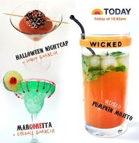 Halloween Cocktails from Jeanne Benedict