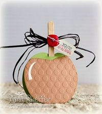 Pickled Paper Designs: Sweet Caramel Apple Thanks
