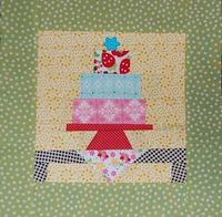 Birthday cake anyone?? Pattern from Fresh Cut Quilts