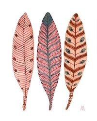 painting feathers