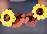 Toe Blooms for the babes...cute