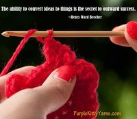 The ability to convert ideas to things is the secret of outward success. ~Henry Ward Beecher