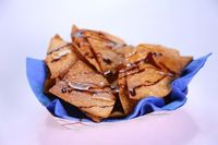 the chew | Recipe | Carla Hall's Chocolate-Caramel Nachos