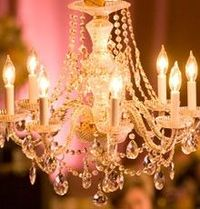 gold and crystal chandeliers
