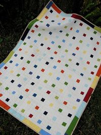quick idea, good for baby boy quilt