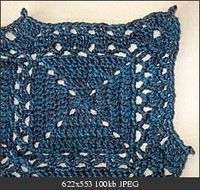 V-Stitch Border crochet
