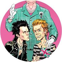 The Sex Pistols and The Queen by JamesBoyle
