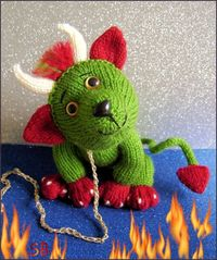 Pet Demon PDF DOWNLOAD ONLY by Phoenixknits on Etsy, $4.50