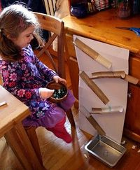 Have run with a marble run!