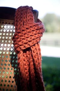 knitted fashionable scarf �™��œ� | Keep the Glamour | BeStayBeautiful