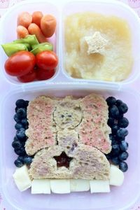 Fairy Princess Lunch Punch in an #easylunchbox. #bento #vegetarian #lunchpunch
